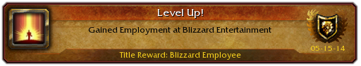 Blizzard Achivement