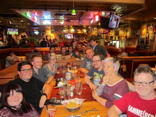 My Farewell Party at Red Robin